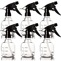 Youngever 6 Pack Empty Plastic Spray Bottles, Spray Bottles for Hair and Cleaning...