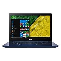"Acer Swift SF314-52-32TQ Ordinateur Portable Ultrabook 14"" Bleu Full HD (Intel Core i3, 4 Go de RAM, SSD 128Go, Intel HD Graphics, Windows 10 Pro, Clavier AZERTY français)"