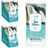 Personal Care Antibacterial Wipes For Hands, Alcohol-free Hand Wipes For Effective Cleaning And Skin Moisturizing Vitamin E,