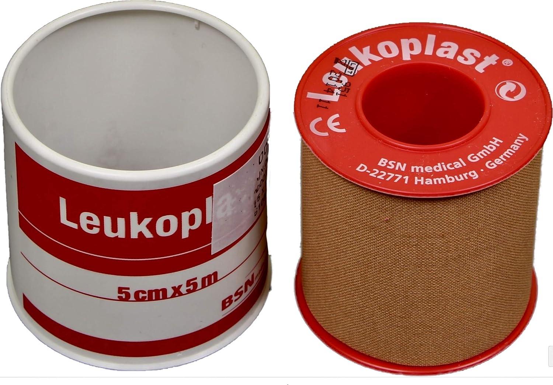 2 Leukoplast Tape 5 cm x 5 m 2 pcs