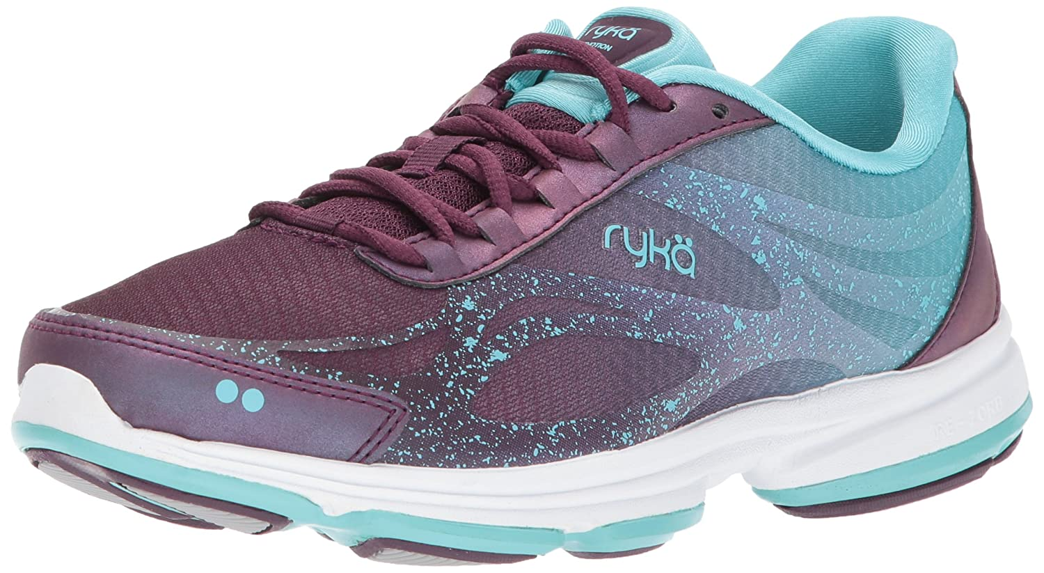 Ryka Women's Devo Plus B(M) 2 Walking Shoe B072P88G69 6 B(M) Plus US|Plum/Turquoise 2cb227