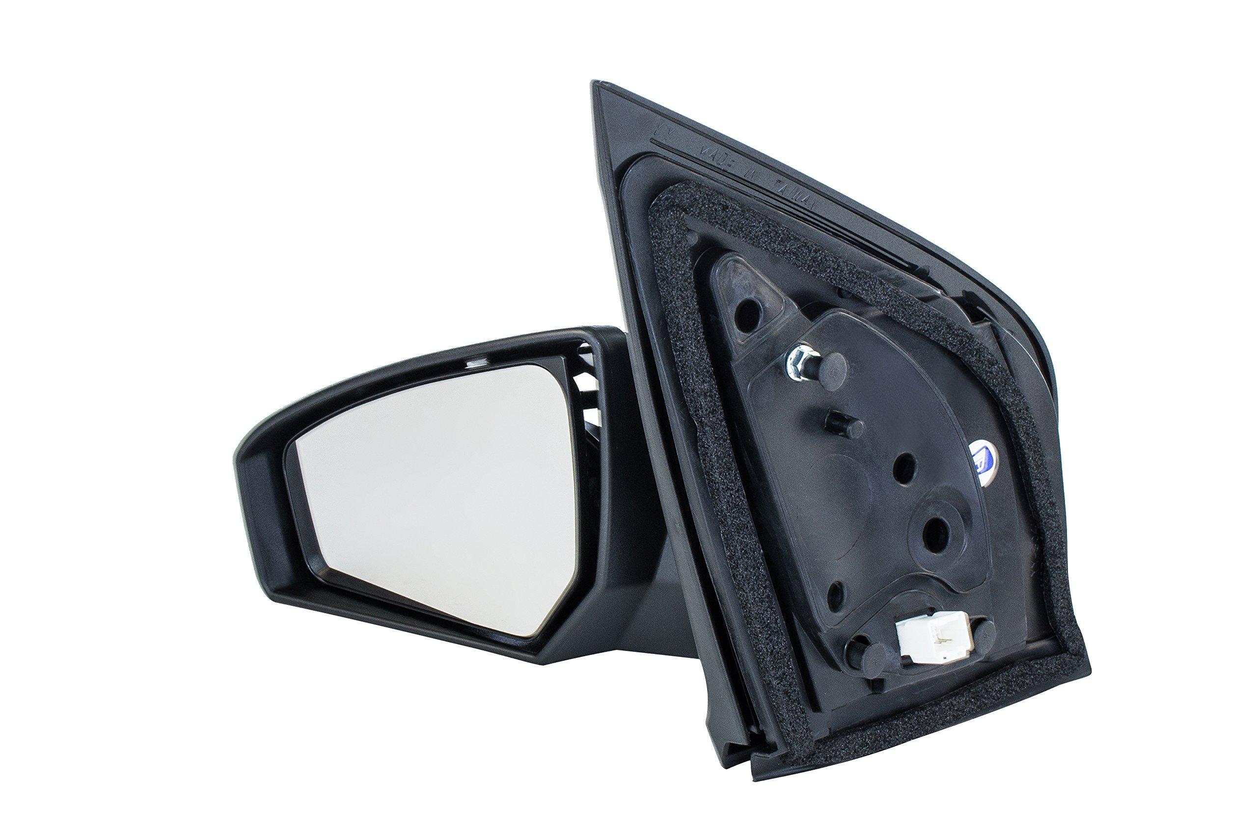 LUJUNTEC Driver Side View Mirror Fits for 2001-2002 Chevy Silverado 1500 HD GMC Sierra 2000-2002 Chevy Suburban Chevy Silverado GMC Yukon 2001-2002 GMC Sierra Manual Folding Heated Black