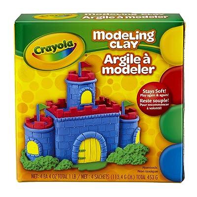 Crayola Modeling Clay 16 oz: Toys & Games