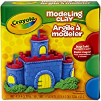 Crayola Nontoxic Modeling Clay (Pack of 12)