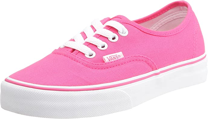 Baskets Vans Outlet Vans Authentic Femme Toile Rose