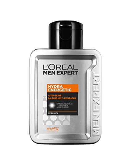 LOréal Men Expert Hydra Energetic After-Shave Bálsamo Multi-Reparador, Pack