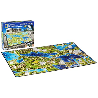 4D Cityscape Inc 4D National Geographic Greece Puzzle Puzzle: Toys & Games