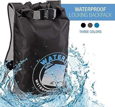 Amazon.com: WaterSeals - Mochila con cierre y bolsa ...