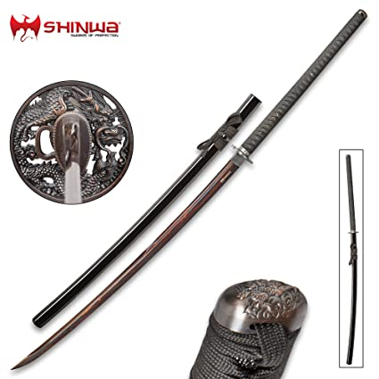 Amazon.com: Shinwa Colossus Yoru - Espada de Samurai gigante ...