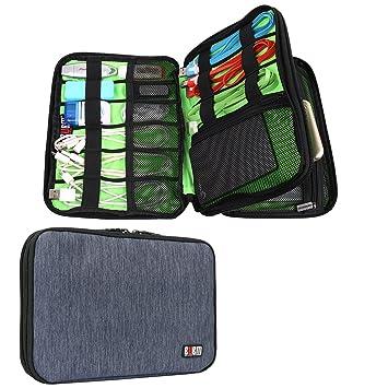 896e217a67 Amazon | PC周辺機器収納ポーチ 二層式 多機能 防水 7.9インチ iPad mini ...