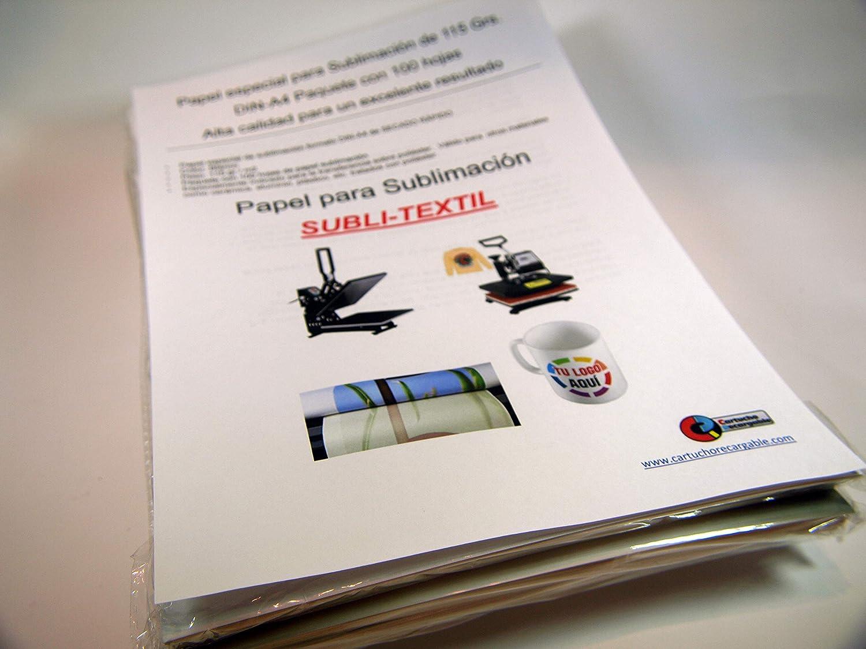Papel especial para Sublimación DIN A-3 contenido 100 HOJAS