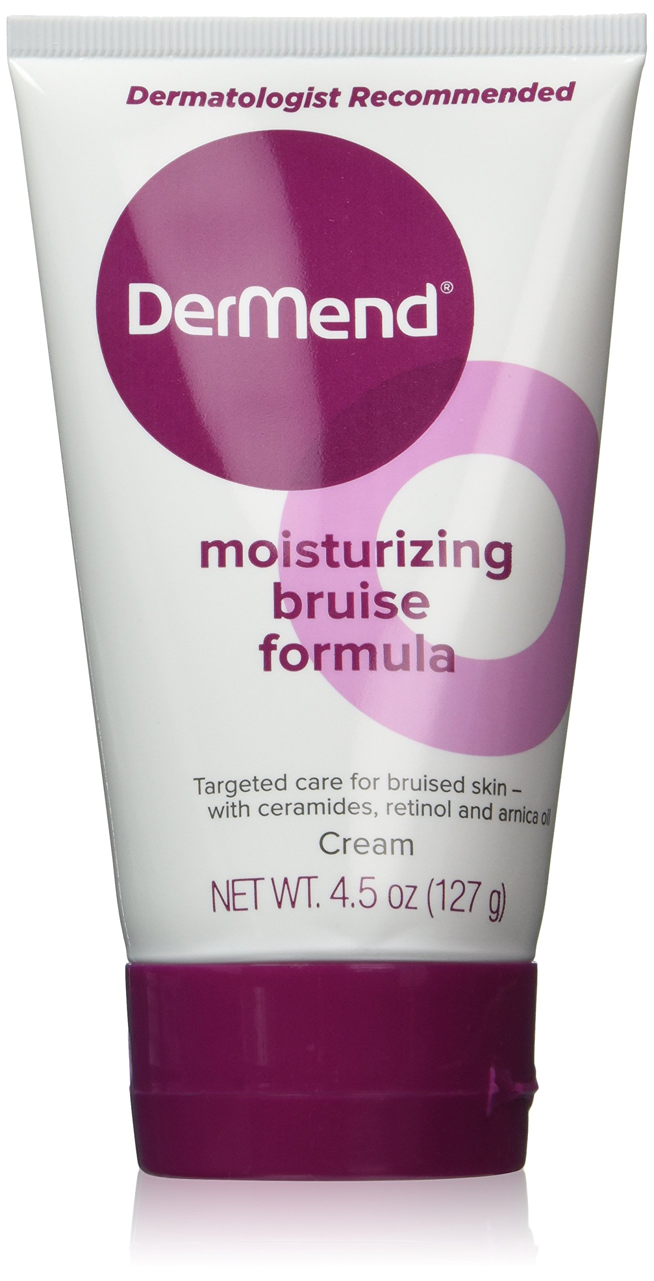 Dermend Moisturizing Bruise Formula Cream 4.5 Oz (Pack of 2)