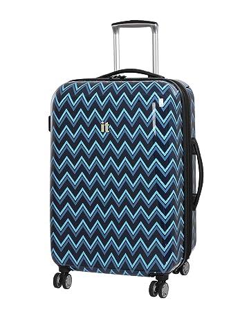 6be52468f Amazon.com | IT Luggage Virtuoso 28-Inch Hardside Spinner (Peacoat Blue  Double Chevron) | Suitcases