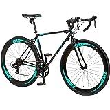 Nex Tyle (ネクスタイル) ロードバイク 自転車 700C 初心者 入門 ZNX-7014(シマノ製14段変速 クロモリ)