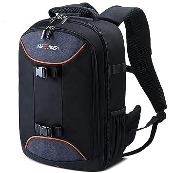 7725894e6362 K F Concept Professional Camera Bag 20L Large Capacity Backpack for DSLR  Camera, 13.3