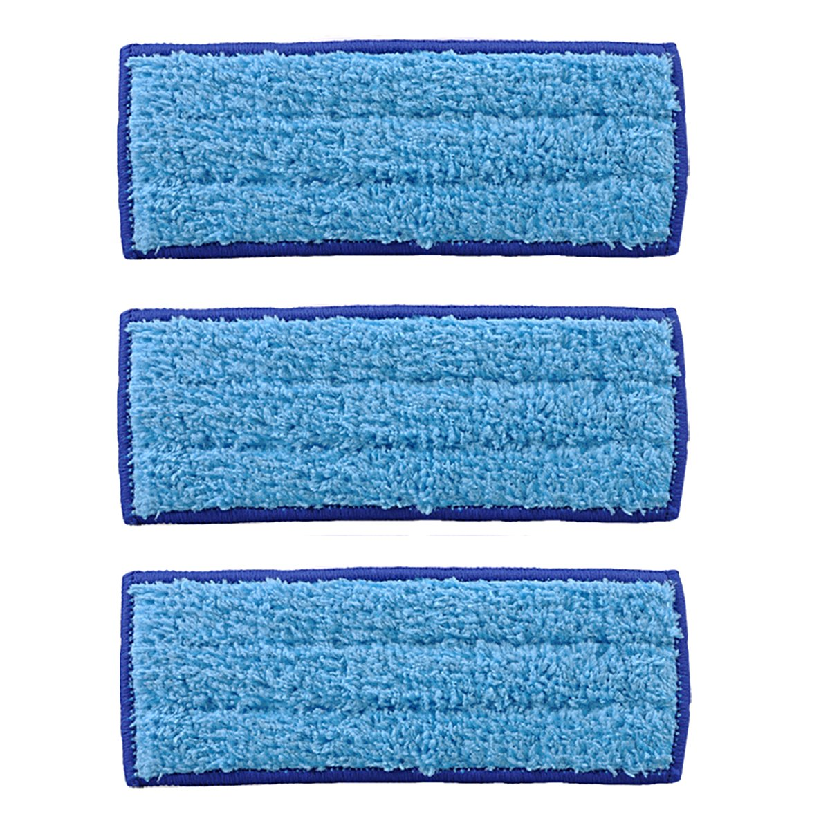 KEEPOW 3 Pack Washable Wet Mopping Pads for iRobot Braava Jet 240 241 by KEEPOW
