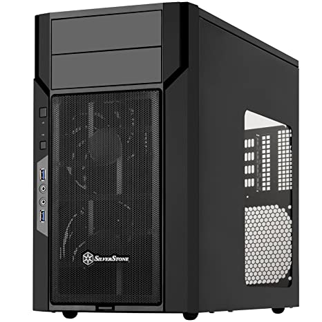 Amazon.com: SilverStone Technology KL06B-W-USA - Carcasa ...