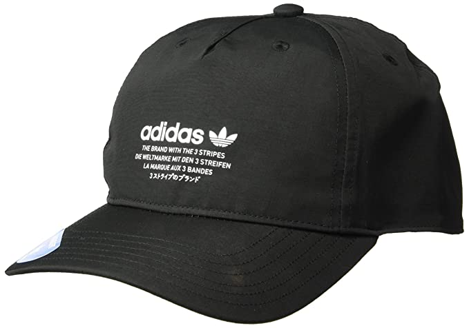 Amazon.com  adidas Men s Originals NMD Relaxed Strapback Cap ab6533630cd