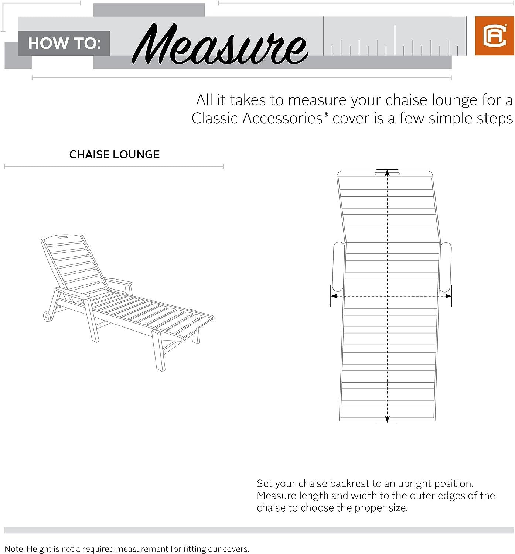 Pebble Medium Chaise 2-Pack Galet v/éranda Jour Housse de Chaise