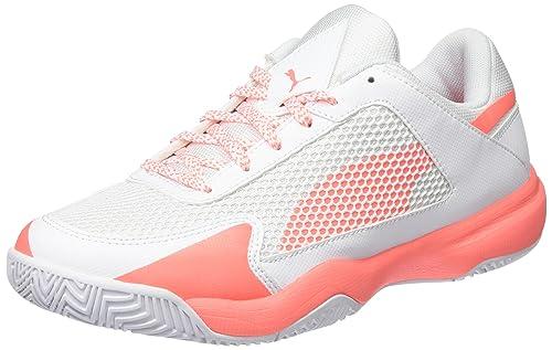Womens Evospeed Indoor Nf 5 Fitness Shoes, Schwarz/Korall Puma