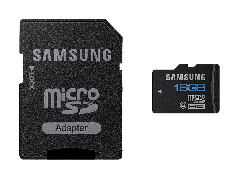 Samsung Essential - Tarjeta de Memoria Micro SD de 16 GB (Class 6)