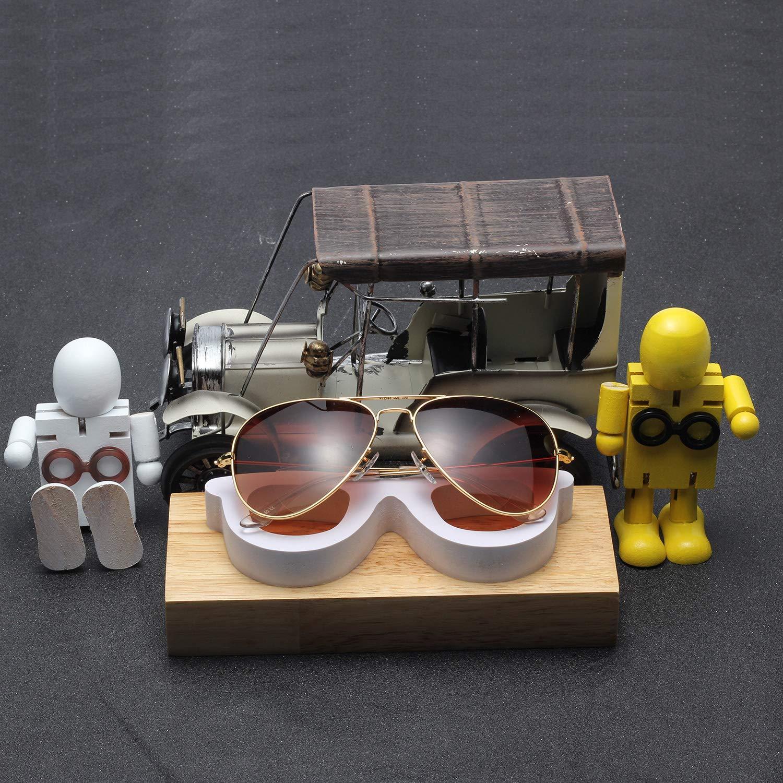 LianSan L8022 Occhiali da sole bifocali per uomo e donna design e aviatore oro lenti UV400 stile retr/ò