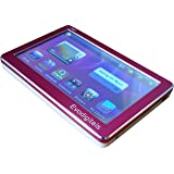 "EvoDigitals Pink 48GB (16GB + 32GB) 4.3"" Touch Screen MP3 MP4 MP5 Player With TV OUT Equaliser - Videos 