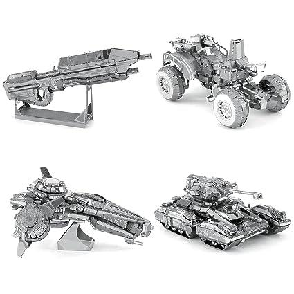 Amazon com: Metal Earth 3D Metal Model Kits - HALO Series 2