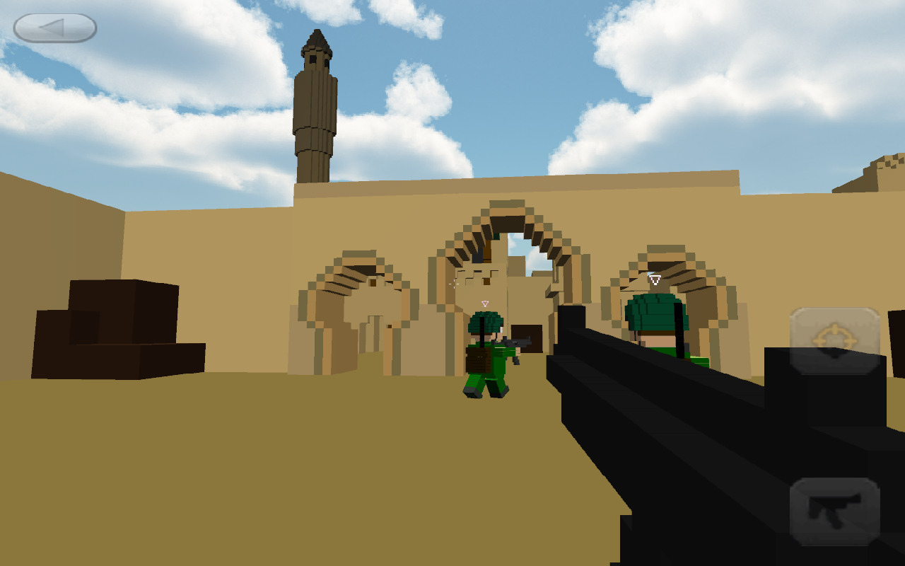 Amazoncom Block Ops Appstore For Android - Minecraft shooter spiele