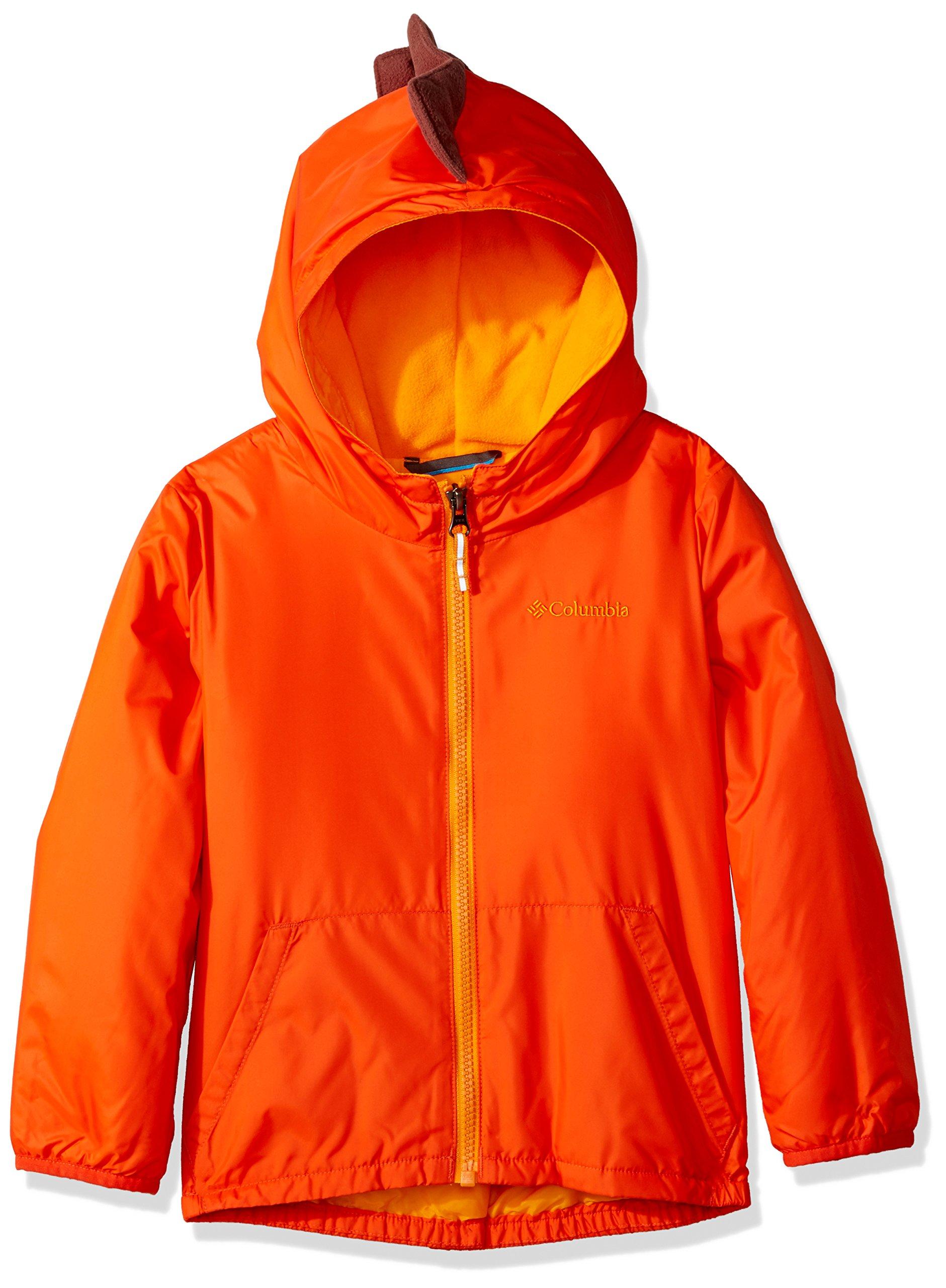 Columbia Boys' Toddler Kitterwibbit Jacket, State Orange, 4T