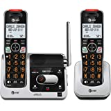 AT&T BL102-2 DECT 6.0 2-Handset Cordless Phone for Home with Answering Machine, Call Blocking, Caller ID Announcer…