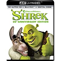 Shrek 4K Ultra HD + Blu-ray + Digital 20th Anniversary Edition - 4K UHD