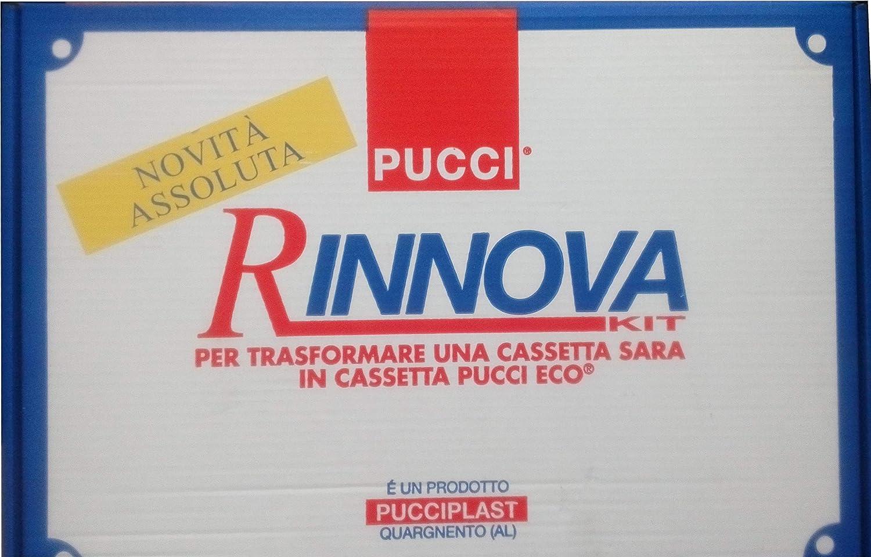 Pucci 80175700 Kit Rinnova per trasformare una cassetta SARA in cassetta Pucci ECO