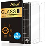 Ailun Screen Protector Compatible iPhone 8 Plus 7 Plus,[5.5inch][3Pack],2.5D Edge Tempered Glass iPhone 8 Plus,7 Plus,Anti-Scratch,Case Friendly,Siania Retail Package