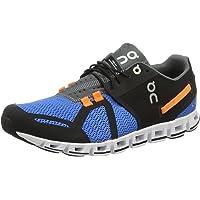 On Men's Cloud Running Shoes, Black/Malibu