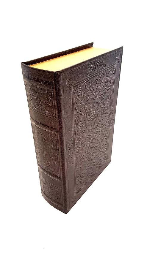 homeneeds Vintage de madera libro caja de almacenaje de: Amazon ...
