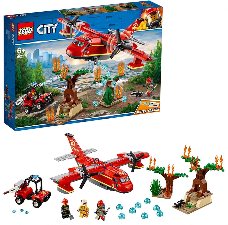 LEGO City Fire - Avión de Bomberos, Juguete Creativo de ...