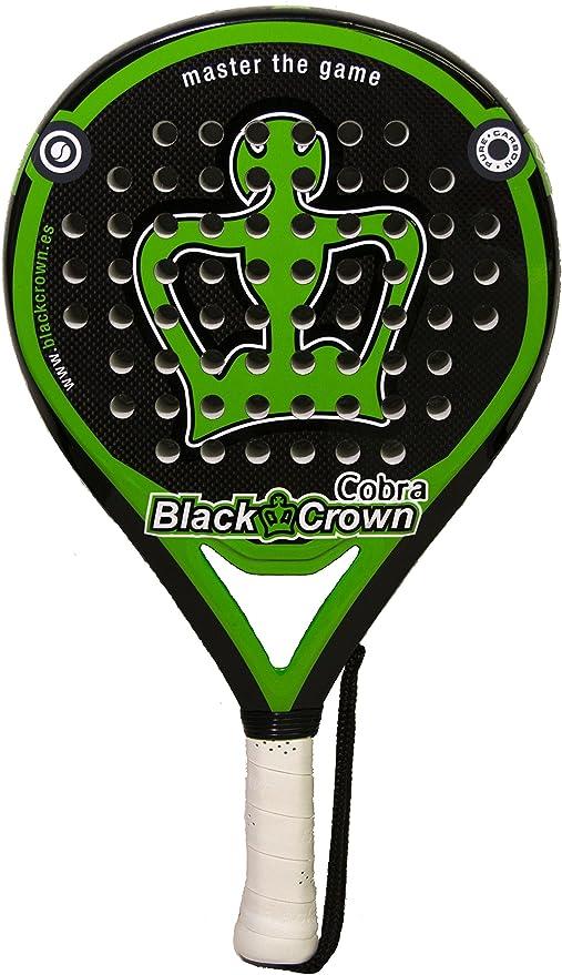 pala de padel Black Crown Cobra: Amazon.es: Deportes y aire libre