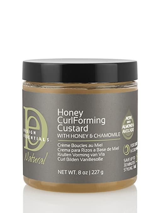 Amazoncom Design Essentials Natural Honey Curl Forming Custard