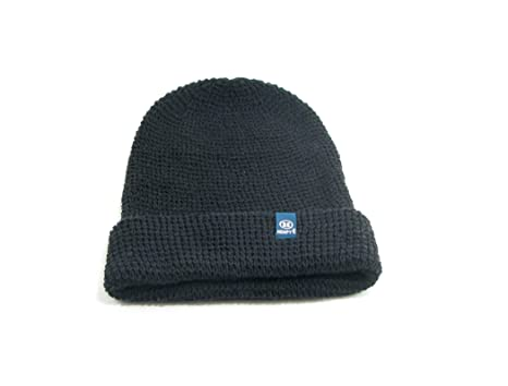 9ceb0ef5213 Amazon.com  Hempy s Hemp Lumberjack Beanie (Black)  Clothing