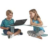 Ecr4kids le surf Portable Lap Desk/support pour ordinateur portable/table d'écriture, mer en mousse