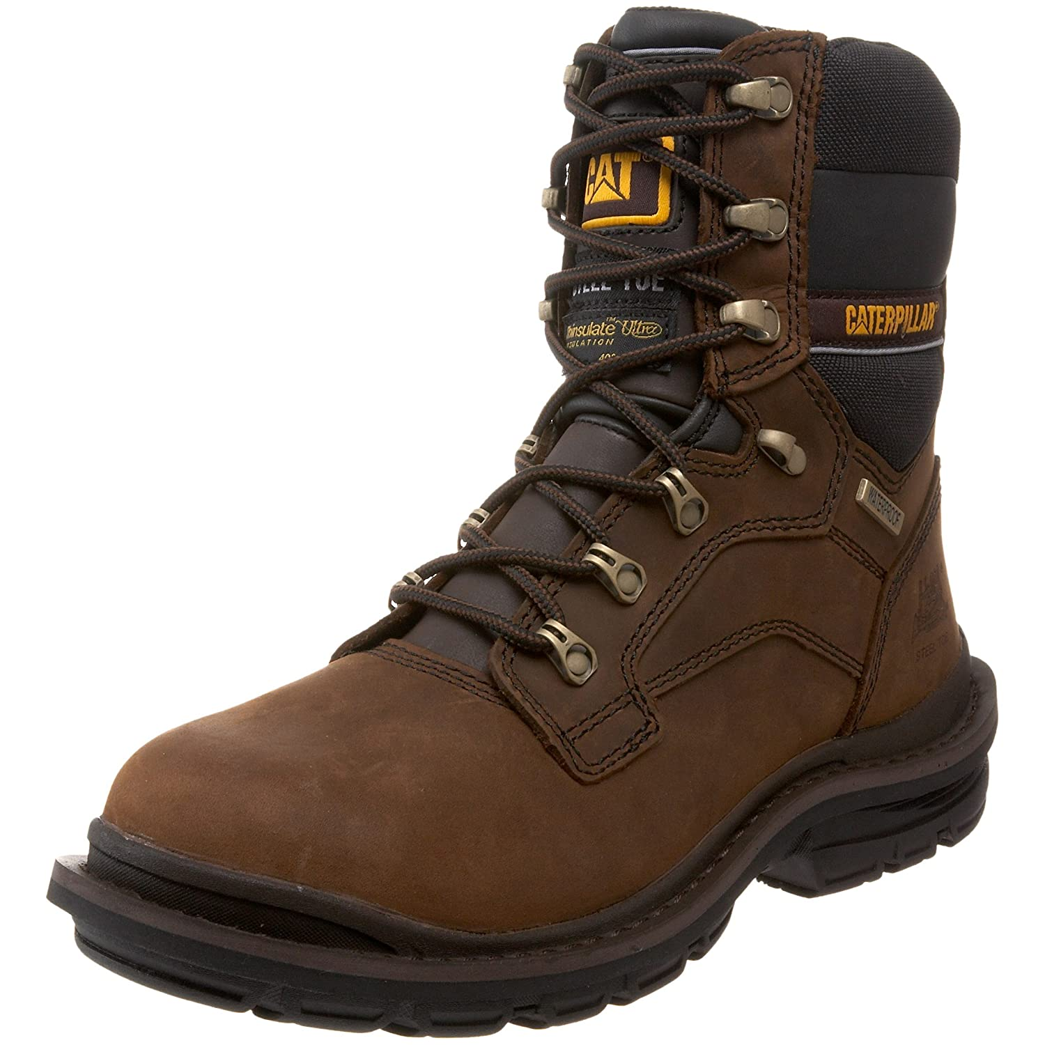 "Caterpillar Men's Generator 8"" Waterproof ST Boot"
