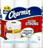 Charmin Ultra Strong Toilet Paper, Mega Roll, 12 Count
