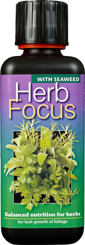 Growth Technology Ltd GTHF300 Herb Focus Liquid Concentrated Fertiliser 300ml