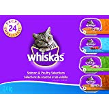 Whiskas Food Trays for Cats - Chicken - Chicken & Liver - 100g (24 Pack)