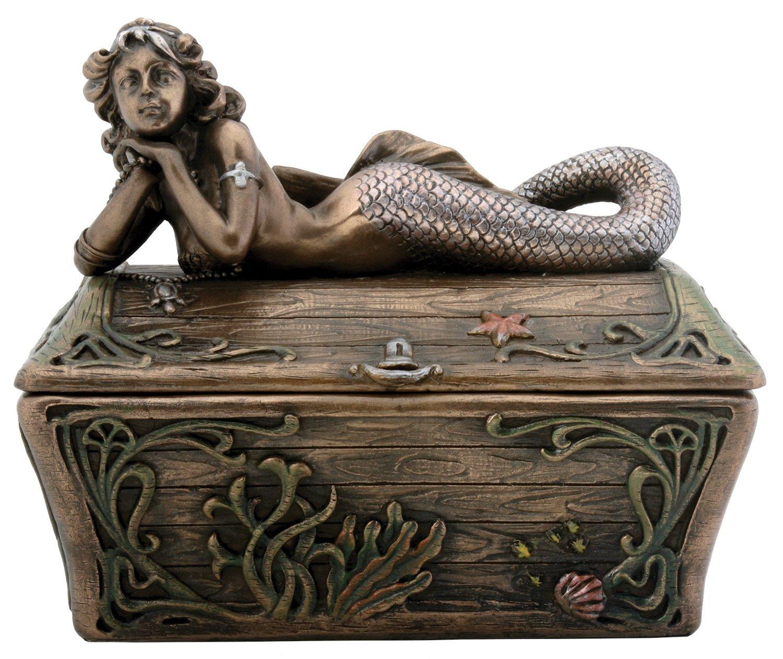 Top 5 Best Mermaid Jewelry Boxes Reviews in 2019 1