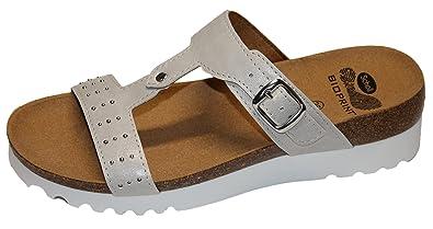 DR.SCHOLL - Sandalias de vestir de Material Sintético para mujer blanco Size: 39 GqN7s2PcH
