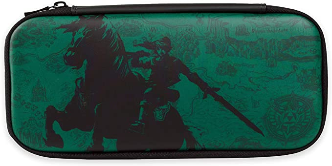 Estuche Discreto Para Legend Of Zelda, Verde (Nintendo Switch ...