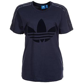 adidas Trefoil Boyfriend T Shirt Damen 42 ML: