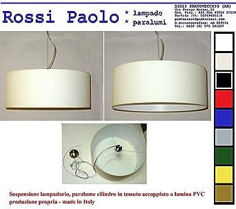 Idea hogar: Lámpara Tulipa Cilindro D50 a techo de tela ...